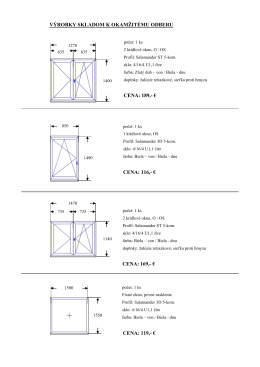 Výrobky skladom [PDF]