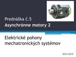 PR5 Asynchrónne motory 2