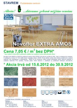 STAVREM Akcia - Fatra Novoflor Extra Amos