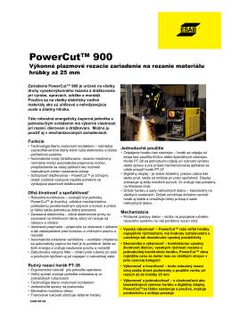 Power™ Cut 900 - zvaraciatechnika24.sk