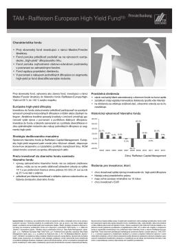 factsheet_REHYF - Tatra Asset Management
