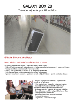 GALAXY BOX 20 - HITACHISK.sk