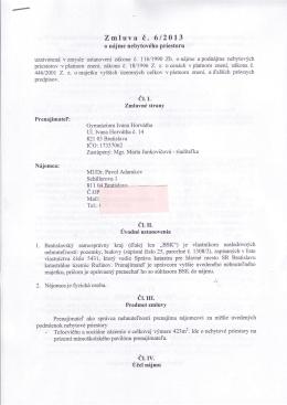 Zmluva i. 612013 cl rr. ir. ut.