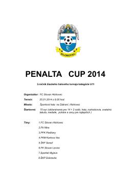 PENALTA CUP 2014