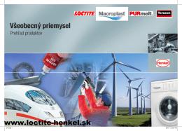 Všeobecný priemysel - Loctite