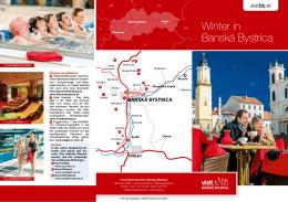 Winter in Banská Bystrica