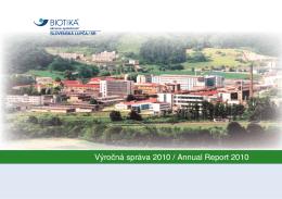 Výročná správa 2010 / Annual Report 2010 - Ako