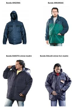 zimné bundy