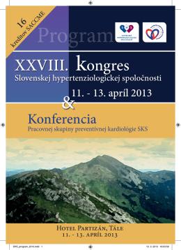 XXVIII. kongres - Slovenská lekárska spoločnosť