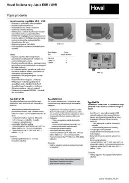 Solarna regulacia katalog