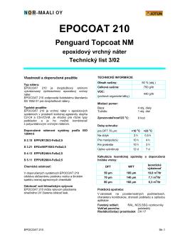 EPOCOAT 210