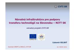 NITT-SK-Lubomir-Bilsky [Režim kompatibility]