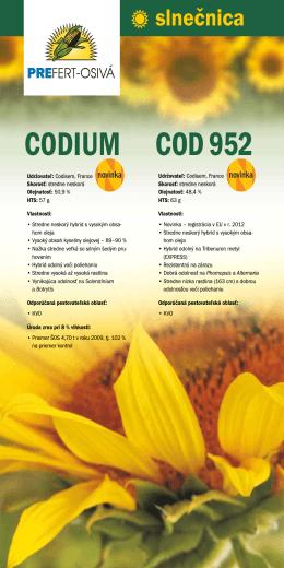 CODIUM COD 952