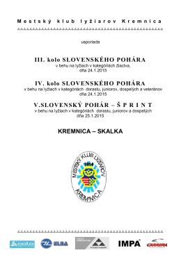 Propozície - biatlonbreza.sk