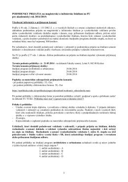 Podmienky_prijatia_II_stupen_2014_2015_na zverejnenie