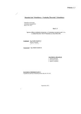 Správa z hĺbkovej dokladovej kontroly vo