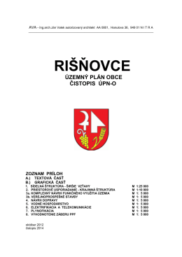 pdf rišňovce územný plán obce čistopis úpn-o