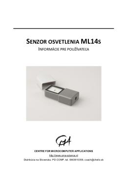 SENZOR OSVETLENIA ML14S
