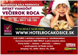 BEST WESTERN Hotel Roca, Južná trieda 117, Košice