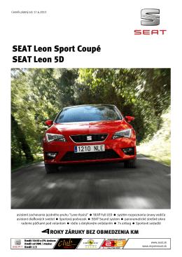 SEAT Leon Sport Coupé SEAT Leon 5D