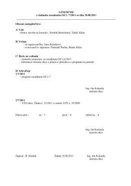 uznesenie OZ 72011