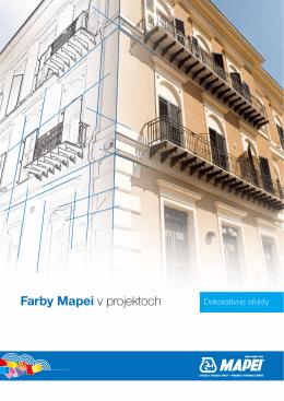 Farby Mapei v projektoch