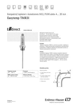 Easytemp TMR31 - E