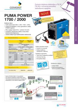 PUMA POWER 1700 / 2000