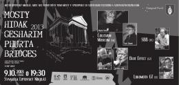 koncert v synagóge 2013
