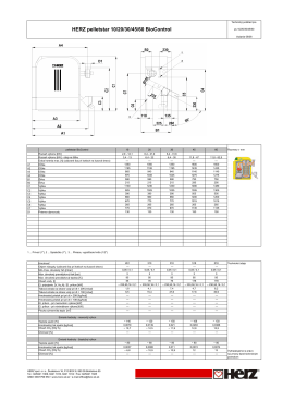 Stiahnite si Technický list Herz pelletstar BioControl v PDF