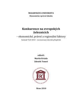 Sbornik_Telč_2010 - Úvod