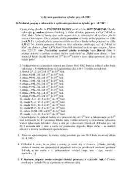 výdaj 2013 - SRZ MsO Trenčín