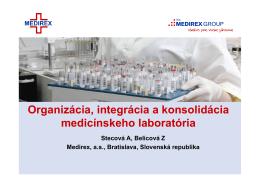 Úlohy medicínskeho laboratória
