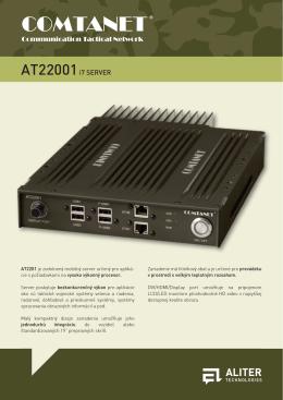 AT22001 i7 Server