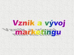 Marketingové princípy