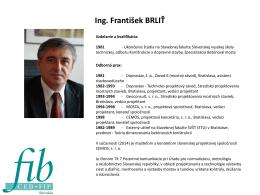 Ing. František Brliť