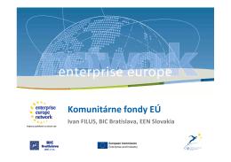 Komunitárne fondy EÚ