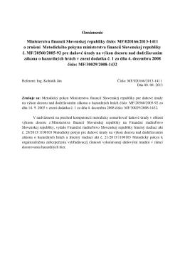 Finančný spravodajca 8/2013