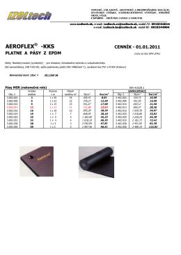 AEROFLEX_pásy