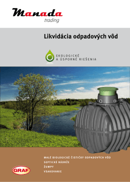 Likvidácia odpadových vôd
