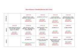 Rozvrh kurzov v BB 2011 -12 novy
