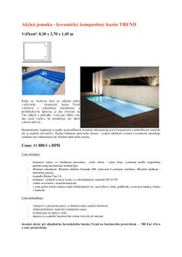 Akčná ponuka - keramický k eramický - bazeny