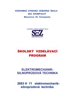 ŠkVP - ssoš sez krompachy