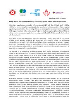 PDF, 233 KB - Poradňa pre občianske a ľudské práva