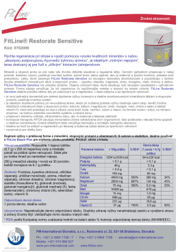 FitLine® Restorate Sensitive - PM