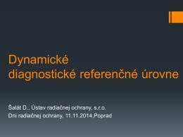 Diagnostické referenčné úrovne