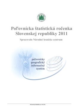 Poľovnícka štatistická ročenka Slovenskej republiky 2011