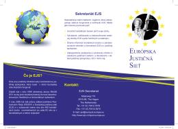 EURÓPSKA JUSTIČNÁ SIEŤ