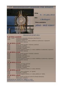 Seminár pre kňazov 2012fin