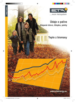 Údaje o palive